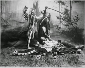 The Battle of Little Big Horn, inaccurately dramatized