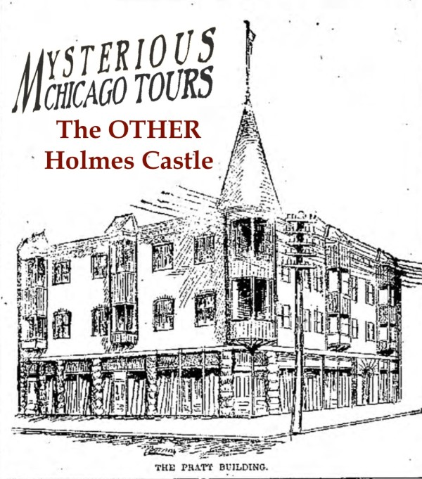 "The second ""castle"" Holmes built in Fort Worth. It was very similar in style to the Chicago castle."