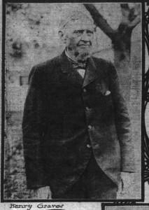 Henry Graves in 1905.