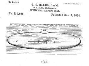 One of G.C. Baker's patents. Was this the Fool Killer that ended up in the Chicago River?