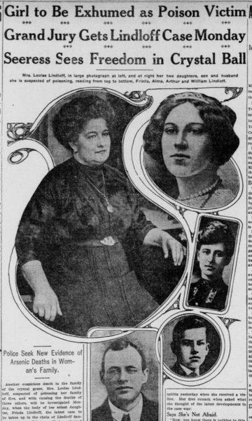 Louise Lindloff, crystal ball murderer